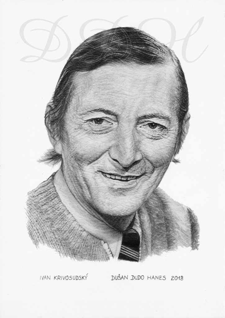 100 - Ivan Krivosudský, portrét Dušan Dudo Hanes