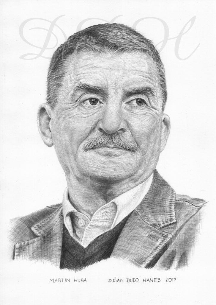 102 - Martin Huba, portrét Dušan Dudo Hanes