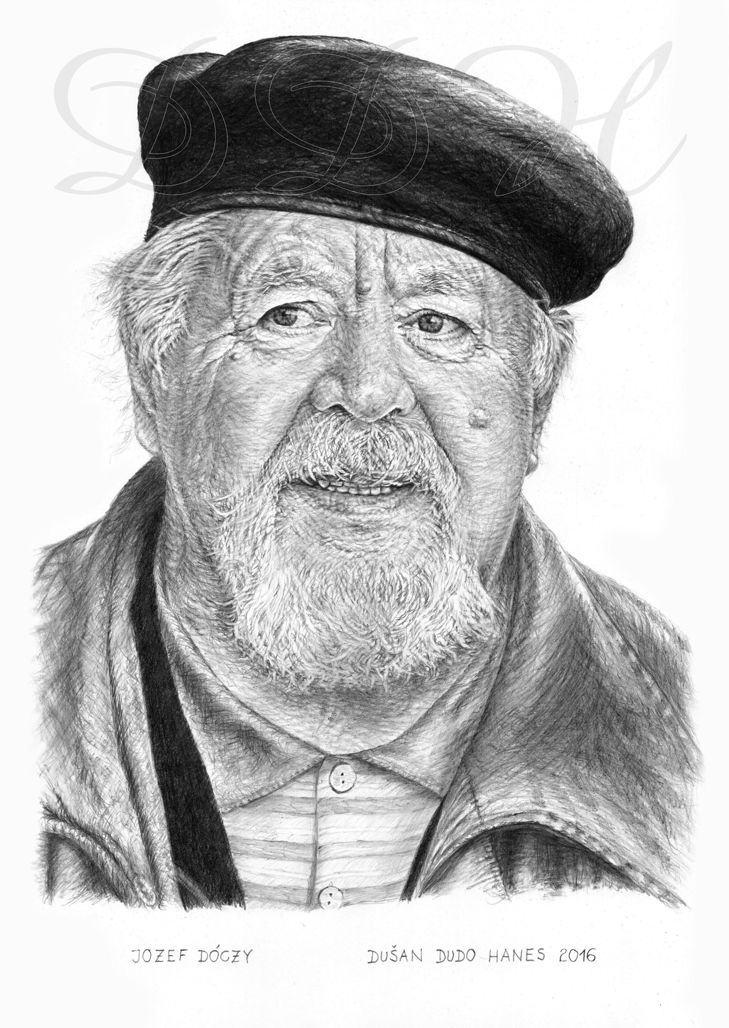 112 - Jozef Dóczy, portrét Dušan Dudo Hanes