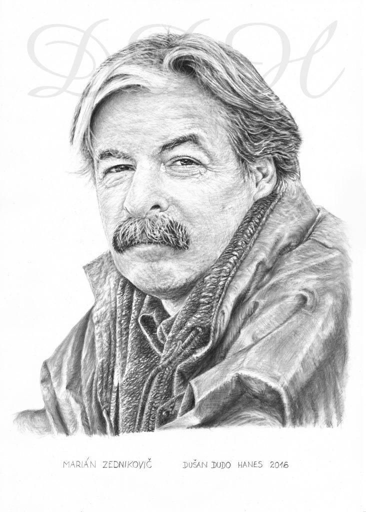 119 - Marián Zednikovič, portrét Dušan Dudo Hanes