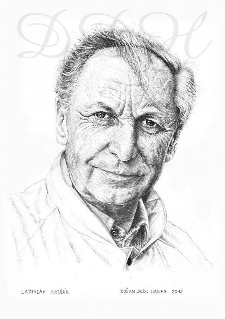129 - Ladislav Chudík, portrét Dušan Dudo Hanes