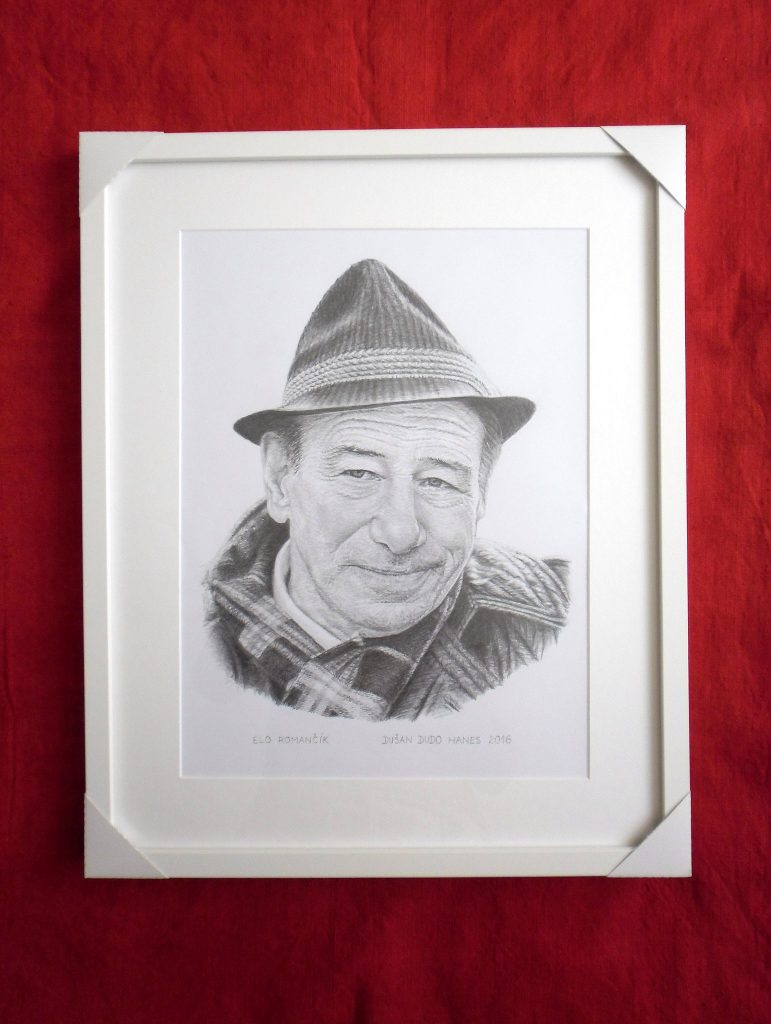 212 Elo Romančík - Portrét v ráme, Dušan Dudo Hanes
