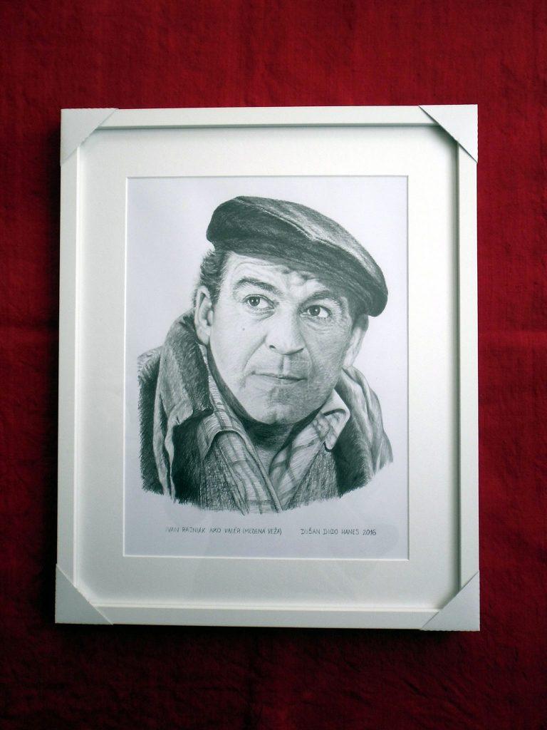 223 - Ivan Rajniak ako Valér (Medená veža). Portrét v ráme, Dušan Dudo Hanes
