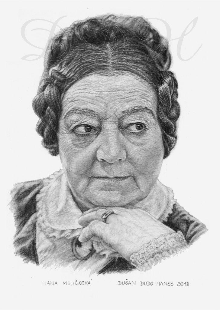 044 - Hana Meličková, portrét Dušan Dudo Hanes