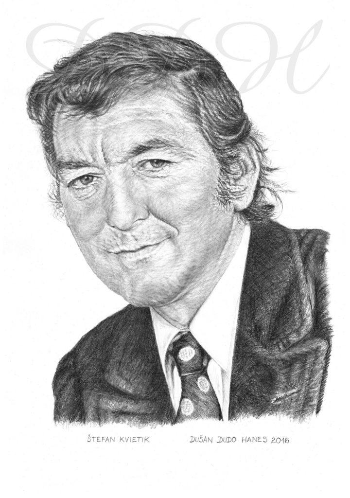 115 -Štefan Kvietik, portrét Dušan Dudo Hanes