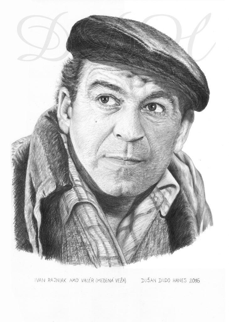 122 - Ivan Rajniak, portrét Dušan Dudo Hanes