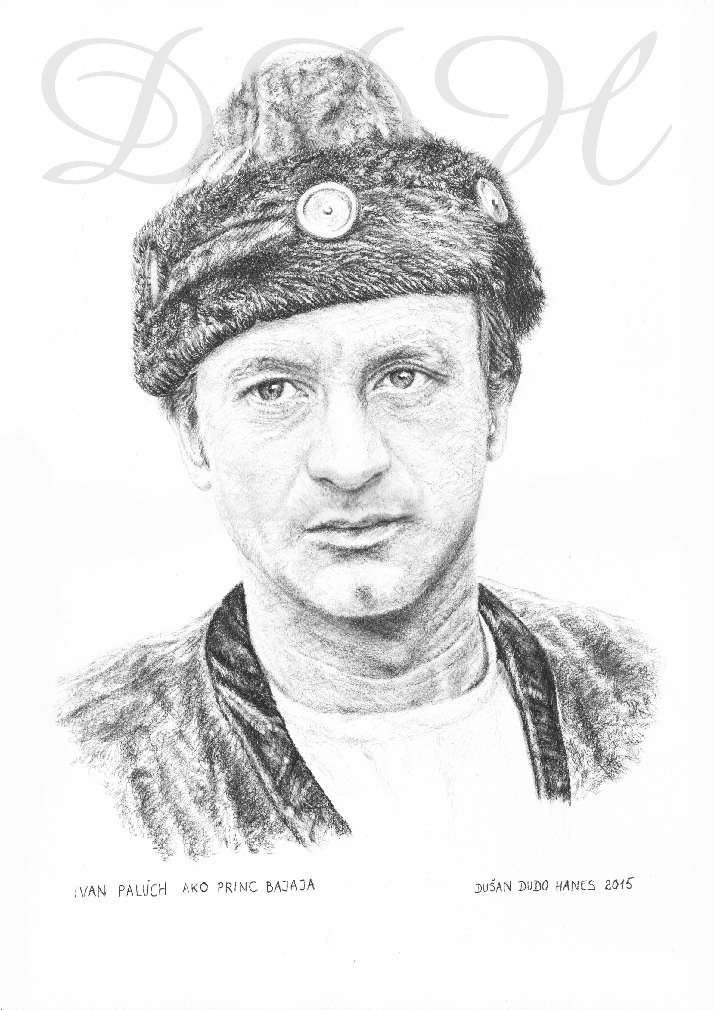 131 - Ivan Palúch, portrét Dušan Dudo Hanes