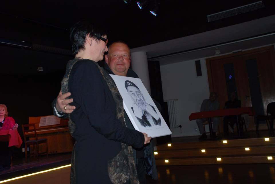217 - Spomienkový večer venovaný Leopoldovi Haverlovi, manželka Boženka Haverlová (Foto Lennie Maxx a Vivienne Streleckа)