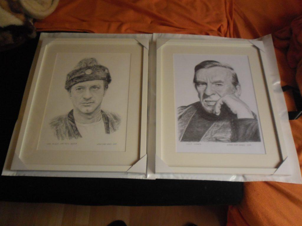 232 - Ivan Palúch a Jozef Kroner. Portréty v ráme, Dušan Dudo Hanes