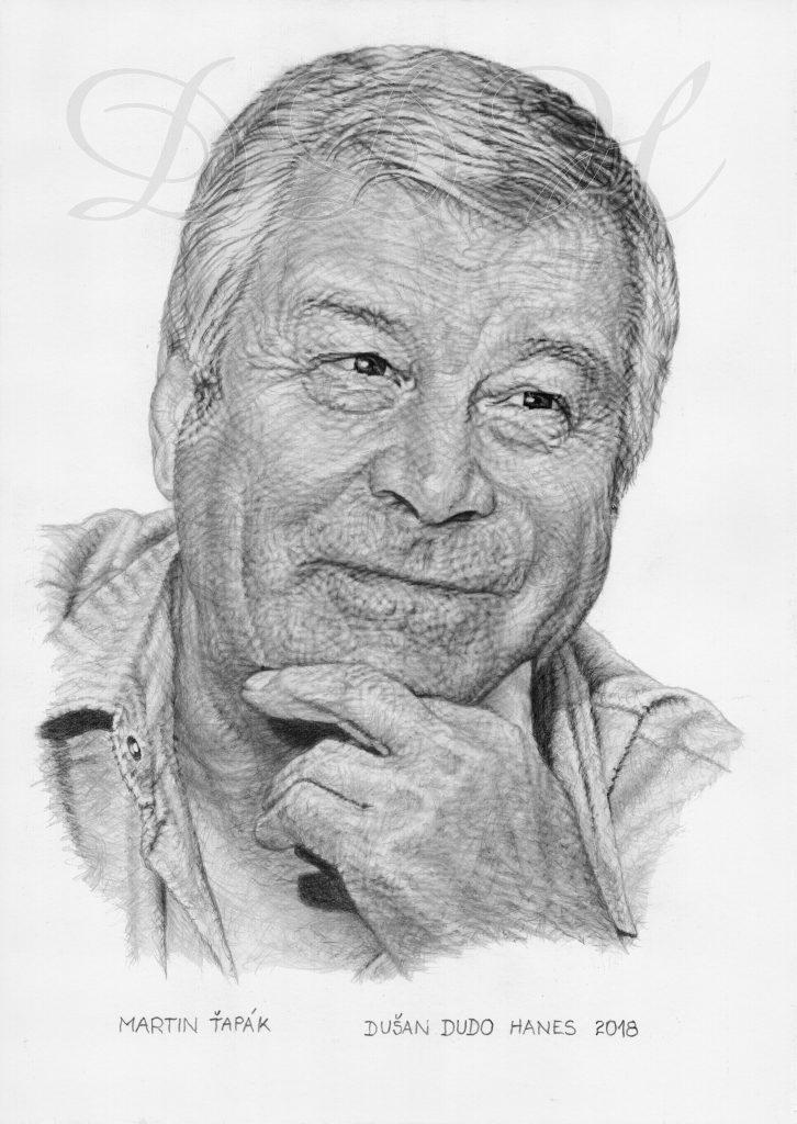 98 - Martin Ťapák, portrét Dušan Dudo Hanes